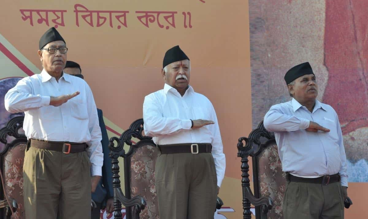 RSS ideology nowdominates Indian politics