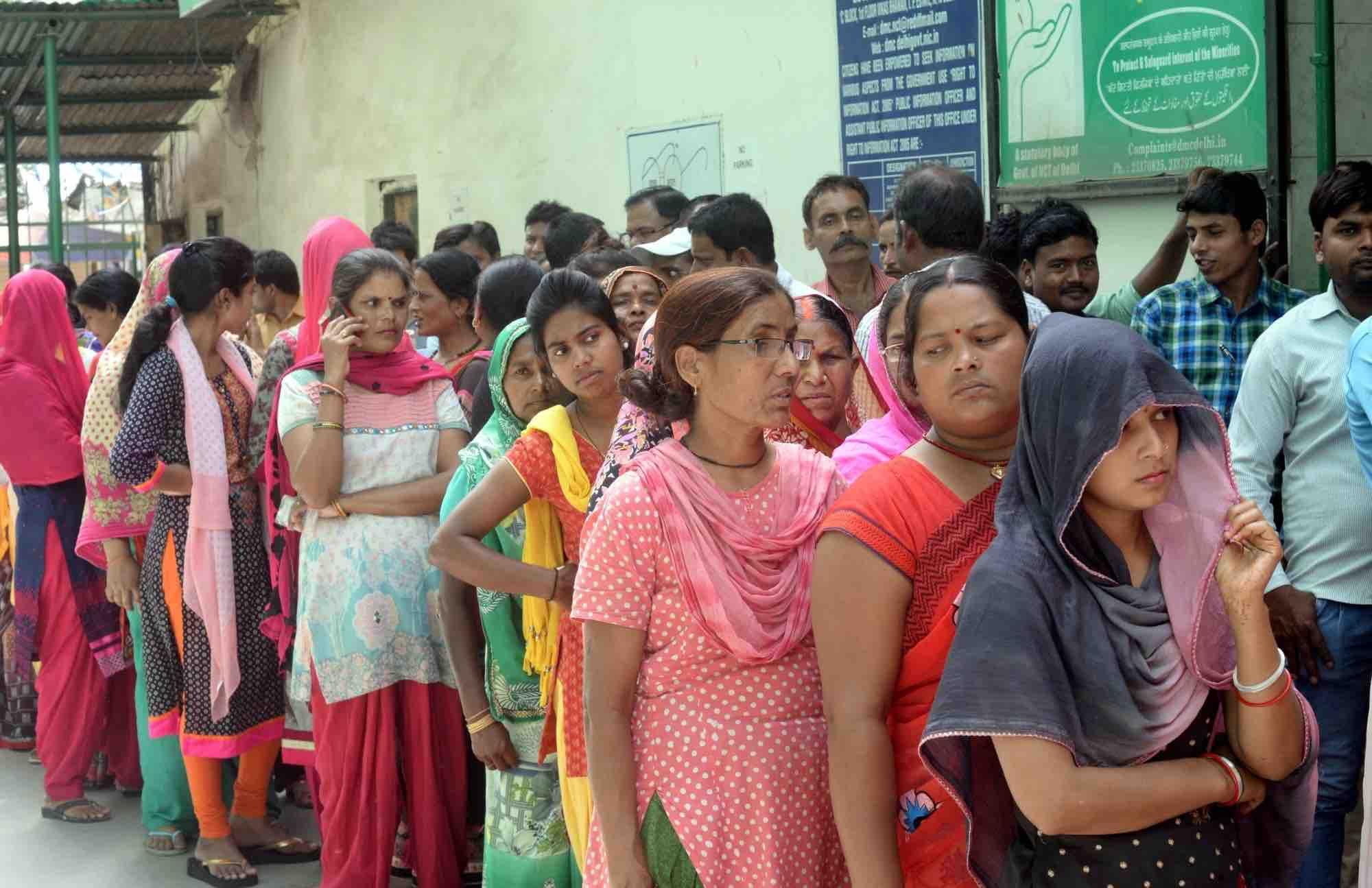 Image result for delhi voting