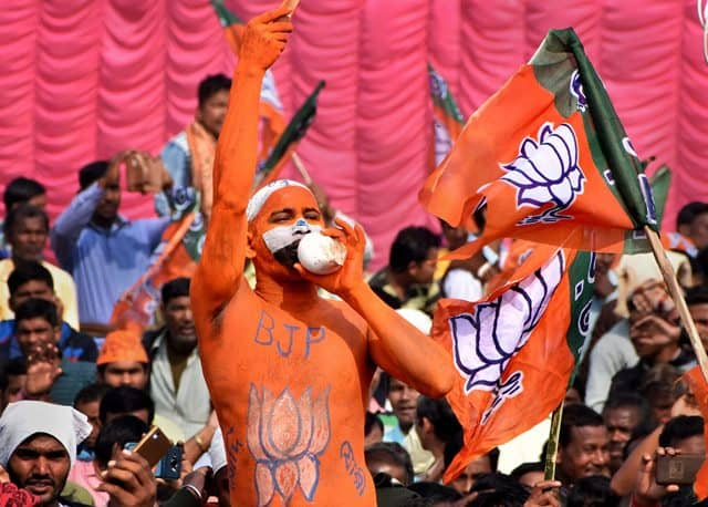 BJP Ahead Of Rivals In Campaigning