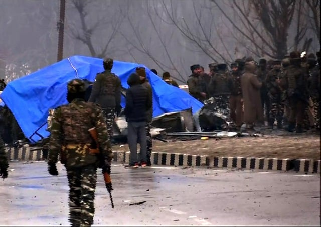 Site Of Pulwama Terror Attack