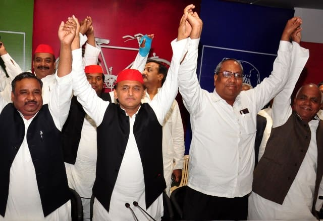 SP-BSP Alliance Gets Support From Nishad Party