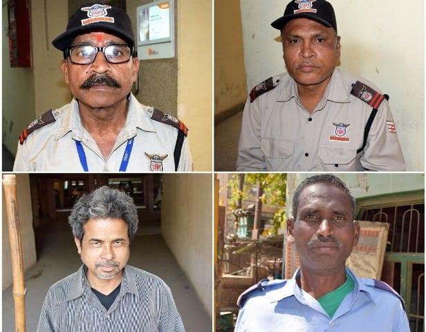 Security Guards On Modi Campaign