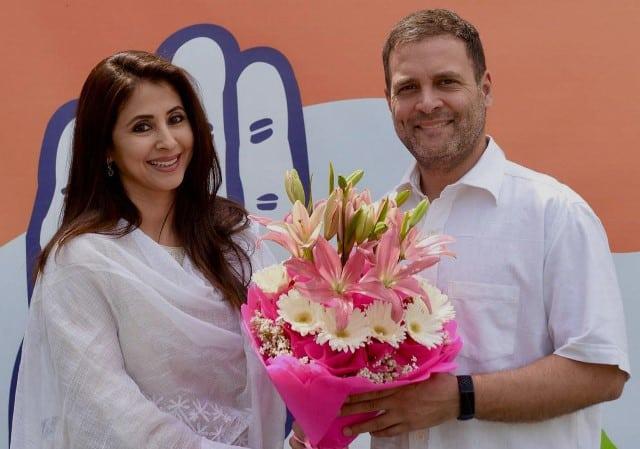 Urmila Matondkar Joins Congress