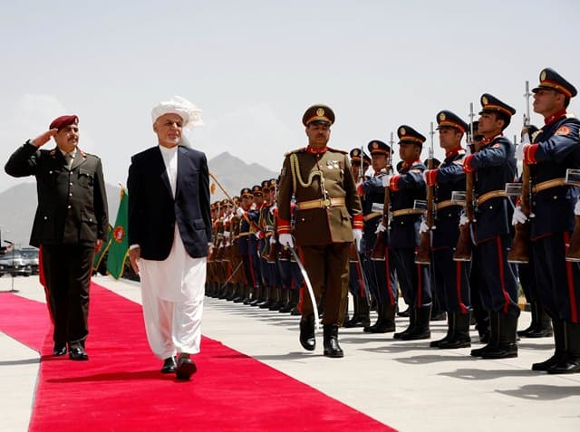 Ghani Inaugurates Afghan Parliament