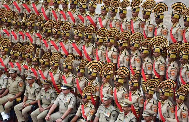 BSF Recruits In Indore