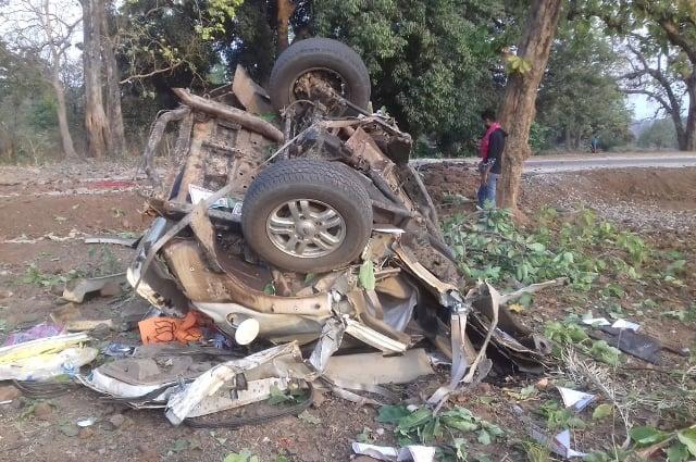 BJP MLA Bheema Mandavi Killed In Naxal Attack