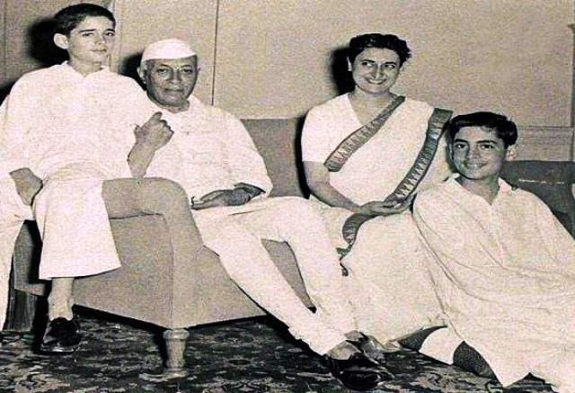 Jawaharlal Nehru, Indira Gandhi, Rajiv And Sanjay