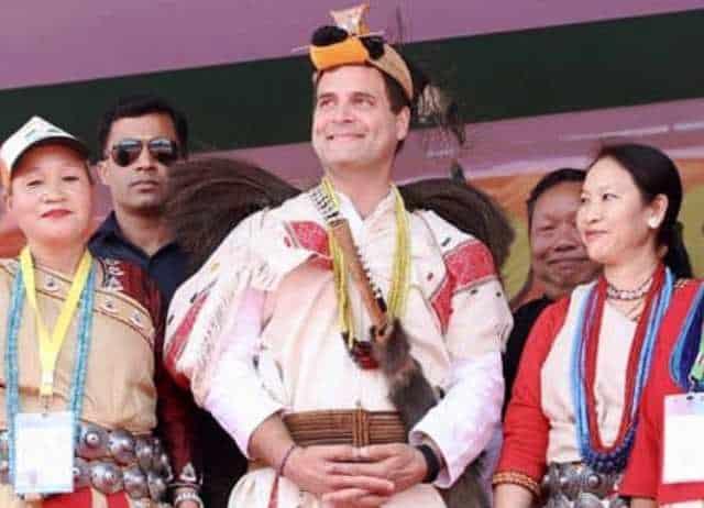 Rahul Gandhi In Arunachal