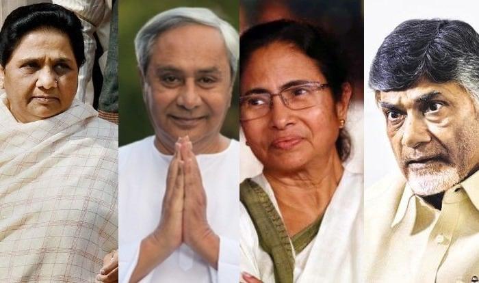Chandrababu Naidu, Naveen Patnaik, Mamata Banerjee And Mayawati