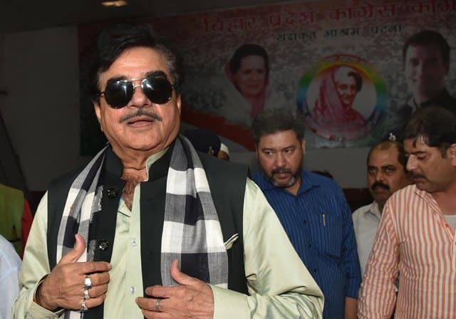 Shatrughan In Congress Office
