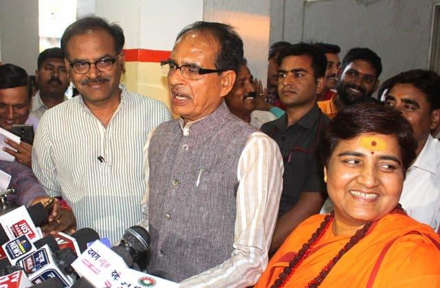Sadhvi Pragya Thakur Files Nomination