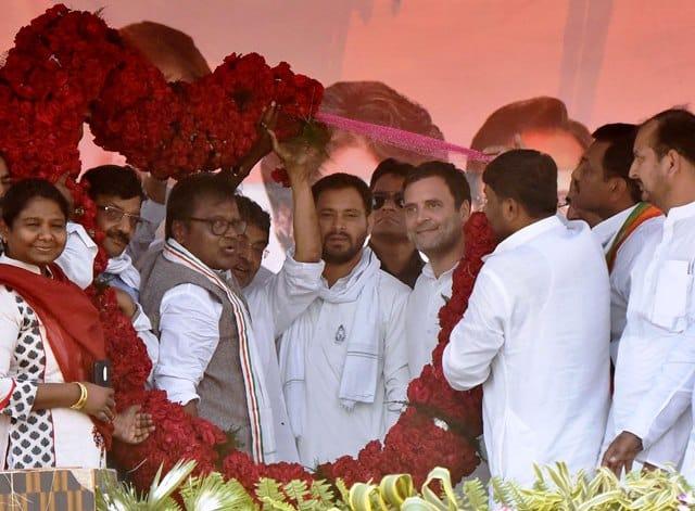 Rahul Gandhi In Samastipur