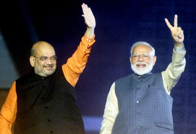 BJP Leaders Vote Of Thanks