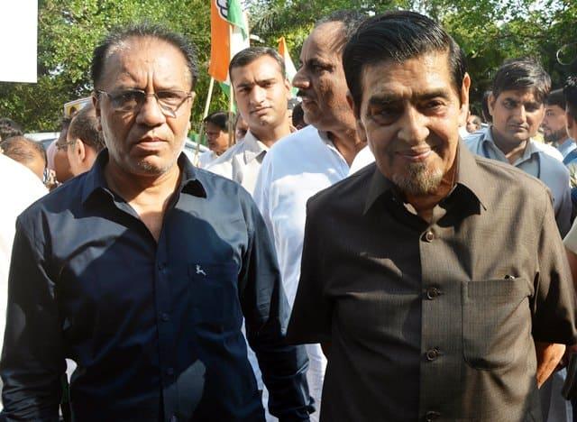 Riots Accused Congress Leader