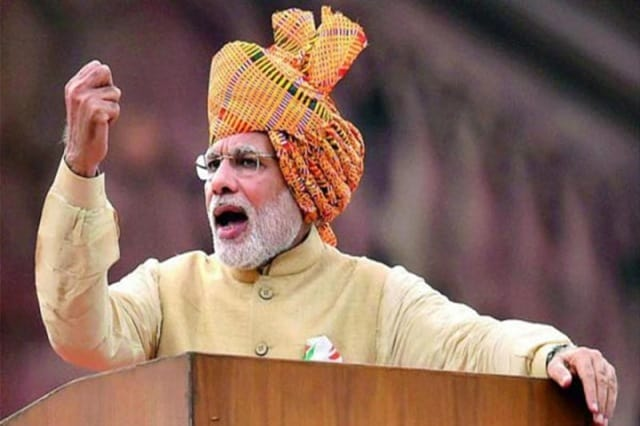 Modi IN combative MOOD