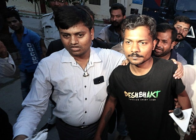 Arrested Journalist In UP