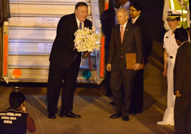 US Secretary Of State In India