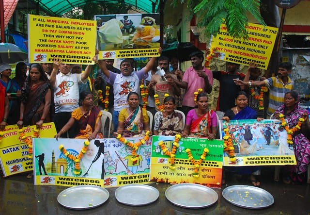 Protest To Seek Parity With BMC Workers