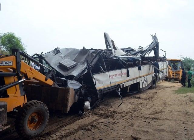 Yamuna Expressway Accident