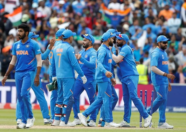 Indian Cricket Team Rejoice After Beating Bangladesh