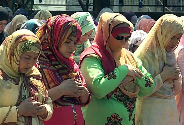 Eid in Srinagar