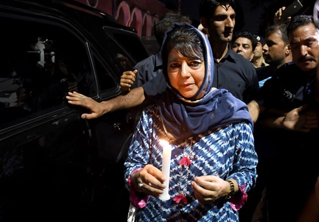 Candle March IN Srinagar