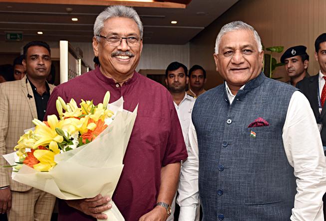 Gotabaya Rajapaksa Visits India