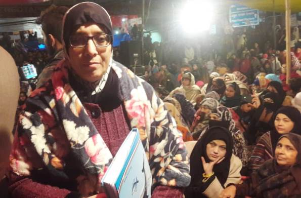Anti-Citizenship Law Protest In Delhi